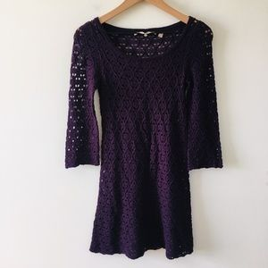 Knitted & Knotted Anthropologie Knit Wool Tunic